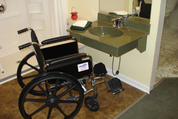Exceptionnel Bathroom Sink And Vanity Accessibility Wheelchair Accessible Sink