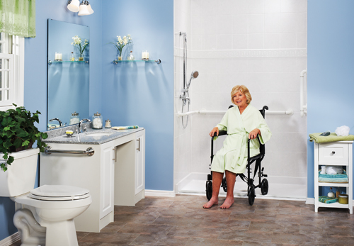 Top 5 things to consider when designing an accessible for Pictures of handicap bathrooms