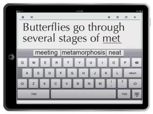 CoWriter Universal iPad