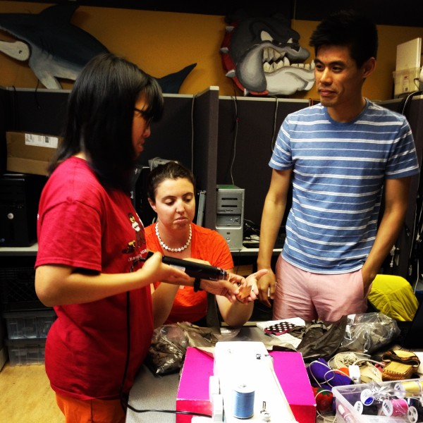 Open Style Lab team working together on accessible clothing product
