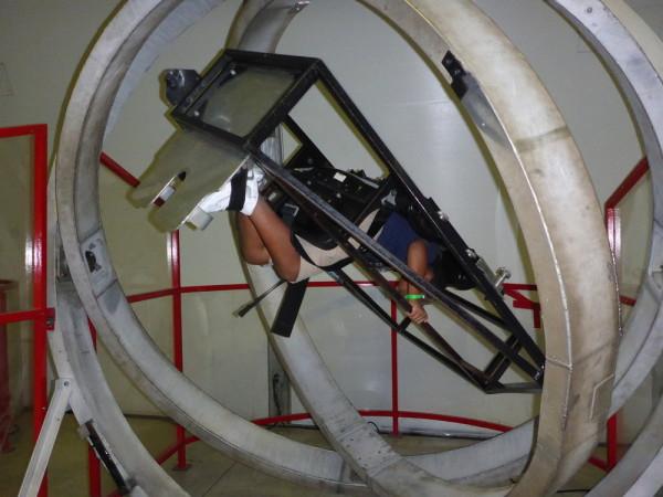Zero gravity atmosphere at SCIVIS