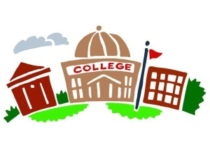 clip art of a college building