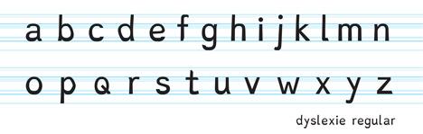 dyslexie typeface