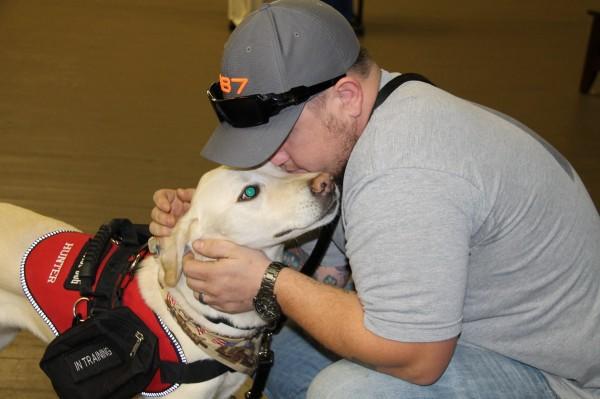 Saving Grace K9's veteran with dog