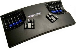 contoured keyboard
