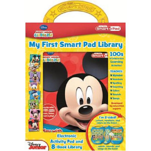 mickey mouse clubhouse smart pad library