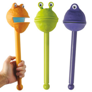 puppets on a stick