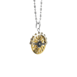 gear spinner pendant necklace