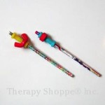 nut and bolt pencil toppers