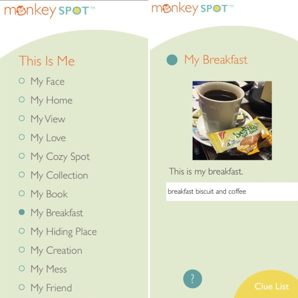 monkey spot this is me example
