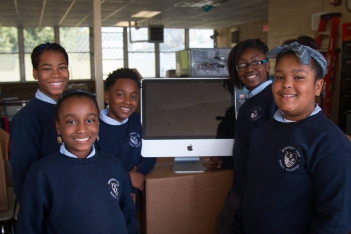 Donating computers to students