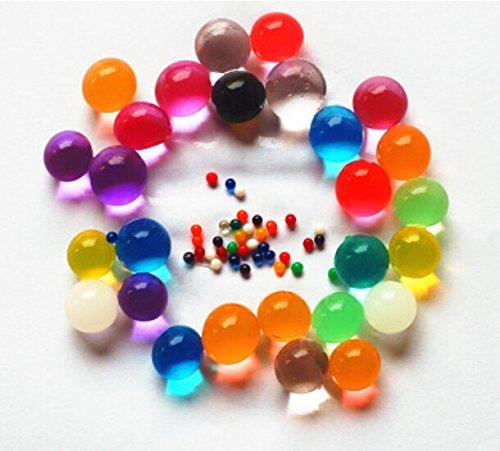 Sensory jungle water beads