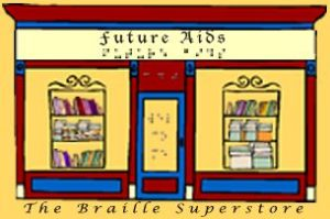 braille book store logo