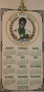 Calendar of Ray Seals day