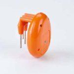orange vibrating liquid level indicator