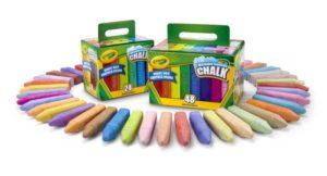 crayola anti-roll chalk