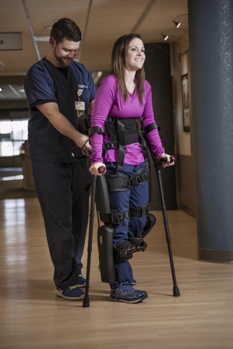 Patient doing rehab