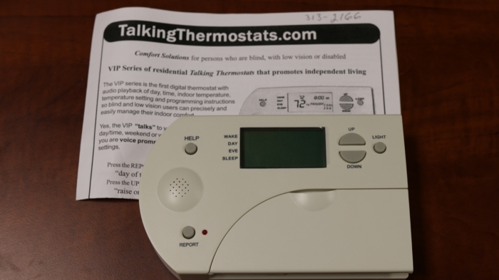 talking thermostat