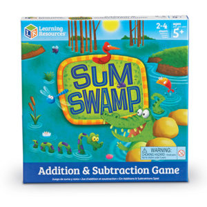 sum swamp addition subtraction game