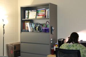soft lighting in krystyl's office