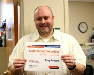 Tony Faucett Volunteer