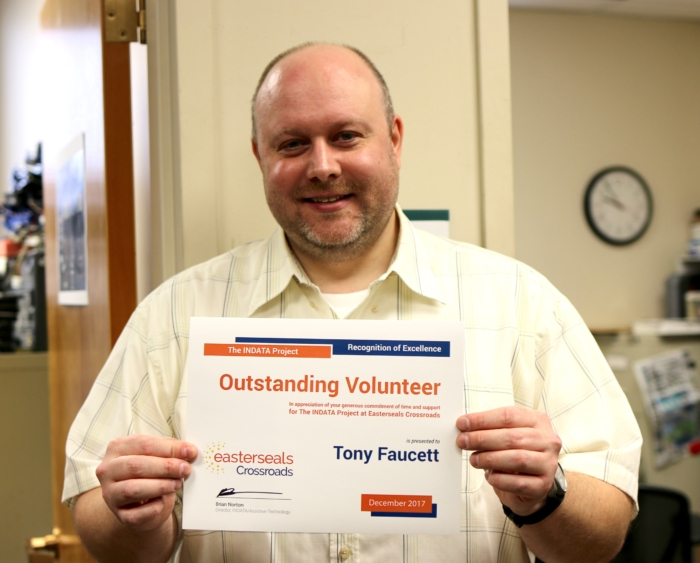Tony Faucett Volunteer