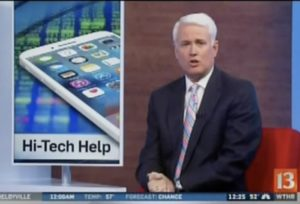 WTHR13 Hi-tech help for persons with disabilities