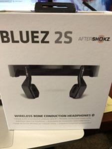 bluez 2s bone conduction headphones
