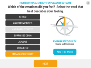 my emotional compass app