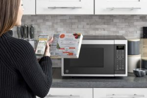 ge smart microwave oven with alexa