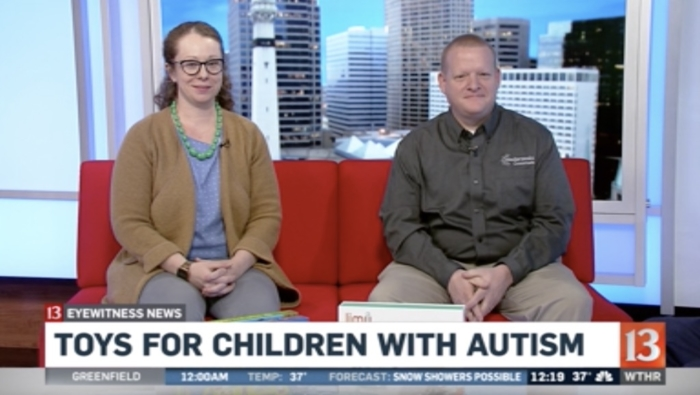 Channel 13 Interview - Toys for Children with Autism