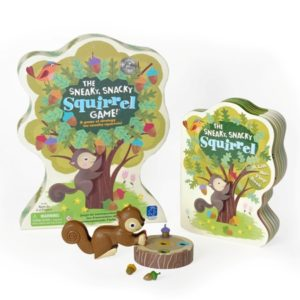 sneaky snacky squirrel game and board book