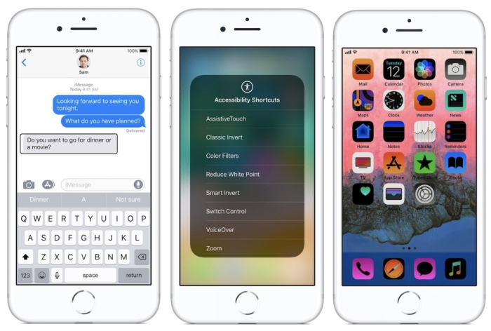 Vision accessibility in iOS 12