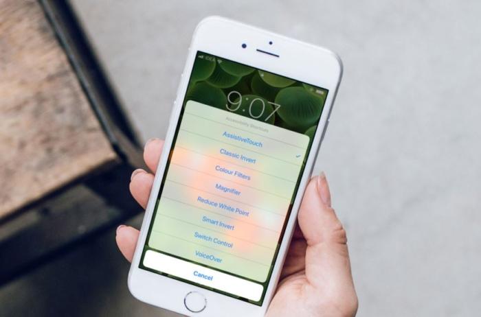 iOS 12 accessibility