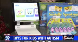 FOX 59 - Toys for kids with autism interview image