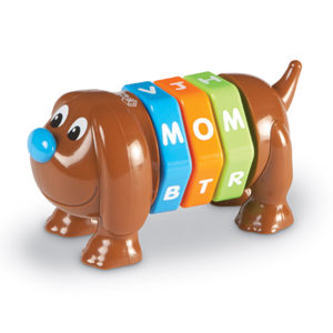 pip the letter pup toy