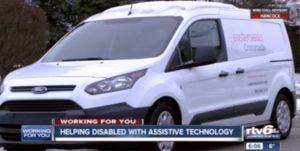 RTV6 - Assistive Technology Mobile Unit