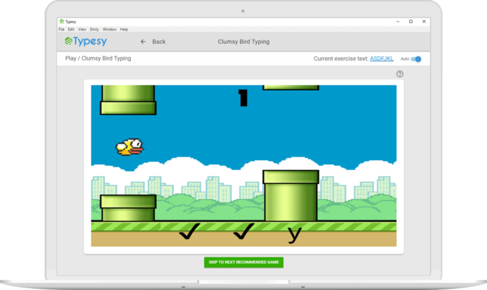 Typesy typing software for kids