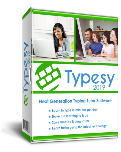 Typesy typing software box