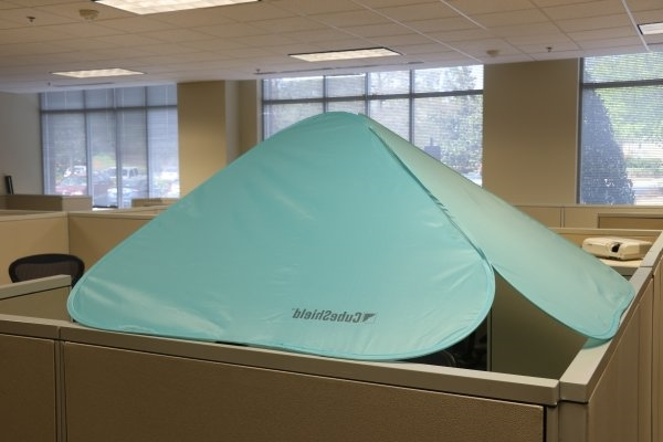 Cube shield for work space