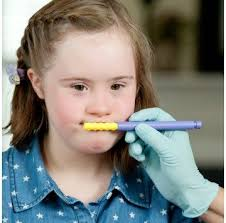 Girl using Z-Vibe tool