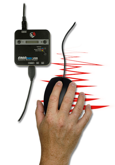 AMAneo device for hand tremors