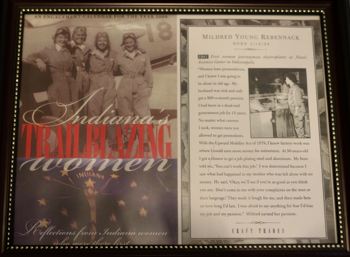 Mildred's page in Indiana's Trailblazing Women