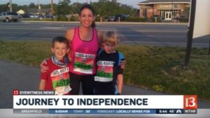WTHR 13 - Journey to Independence Interview
