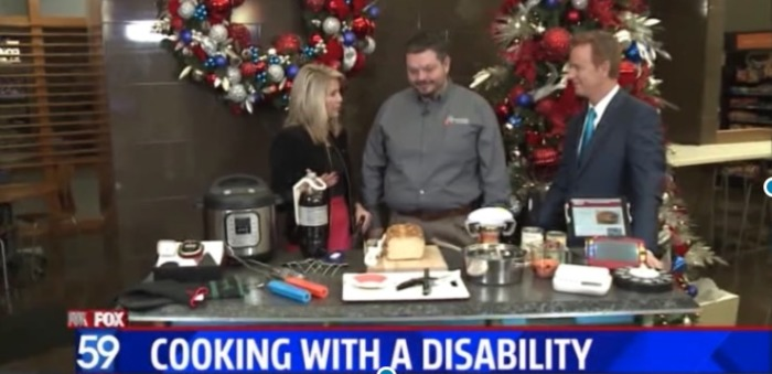 Fox 59 -Making Holiday Cooking Easier for Persons with Disabilities image