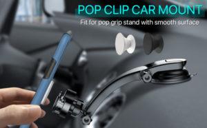 miracase 2-in-1 car phone mount