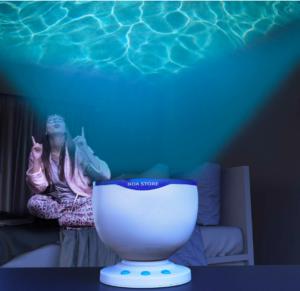 calming autism sensory led light projector