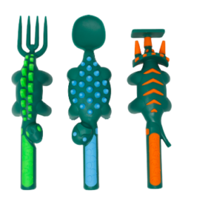 dino utensils for picky eaters