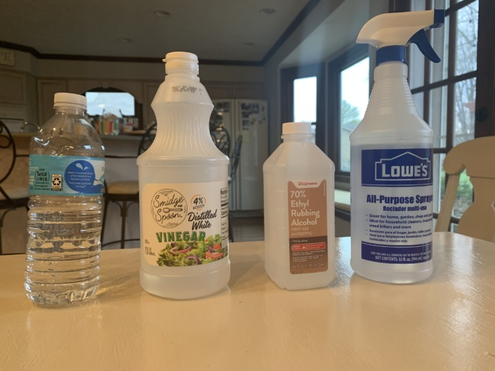 homemade cleaning disinfectant