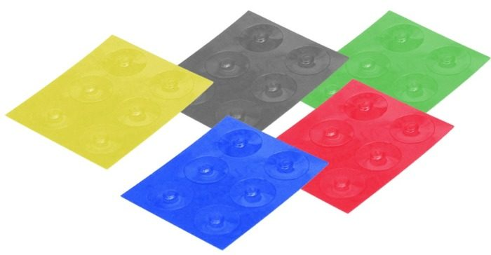 color-dots tactile labelers